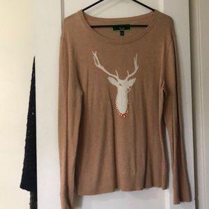 C.wonder reindeer sweater